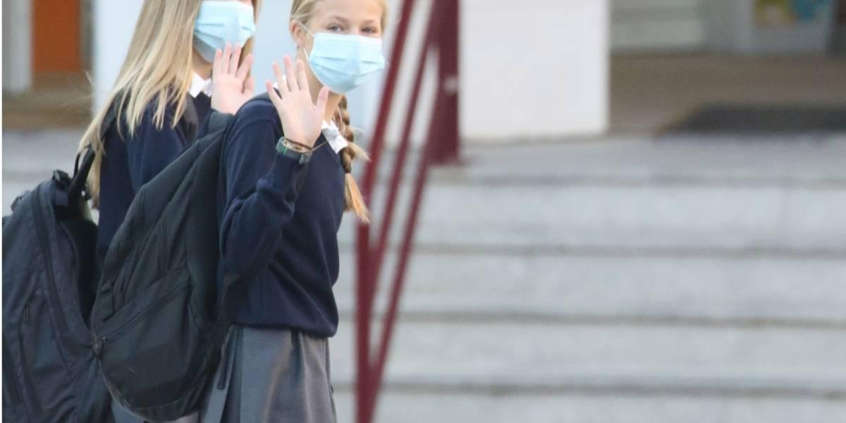 España.- La prueba PCR de la Princesa de Asturias ha dado negativa pero guardará la cuarentena