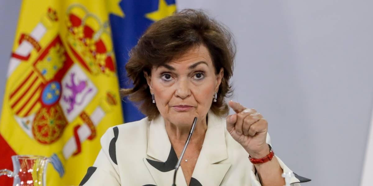 España.- Calvo afirma que la mesa de diálogo sobre Cataluña se mantendrá sin Torra en caso de que sea inhabilitado