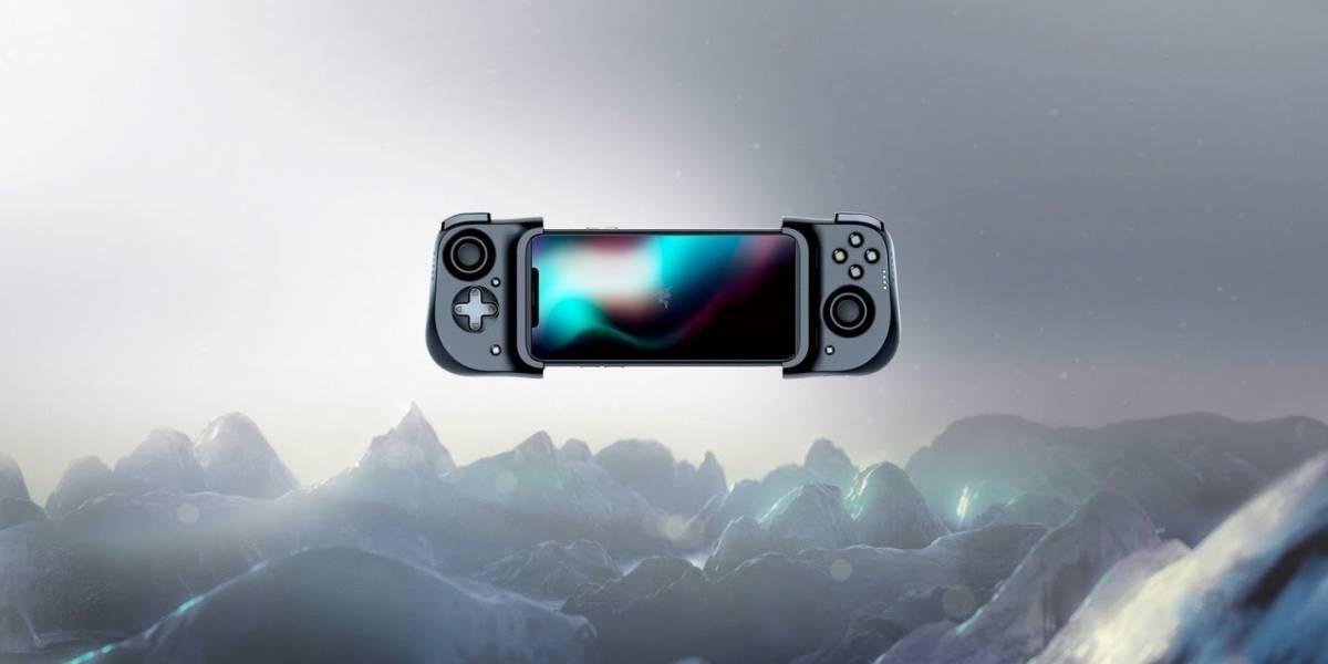 Portaltic.-Razer lanza su mando físico Kishi para iPhone, para jugar con botones desde el móvil