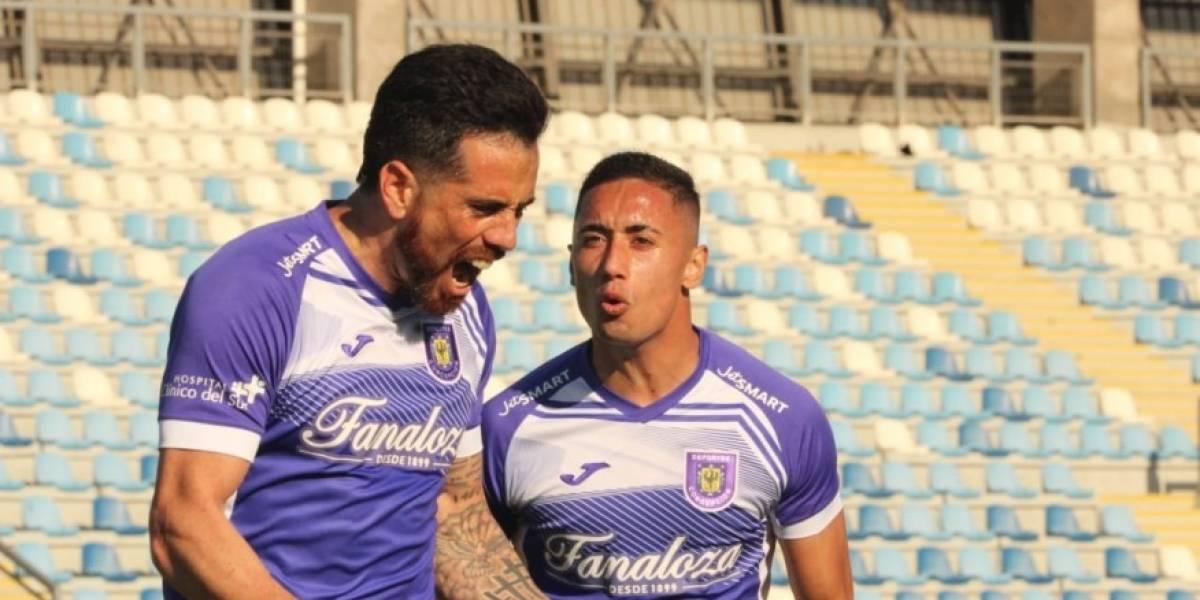Deportes Concepción y Fernández Vial comenzaron con un triunfo la Segunda División Profesional
