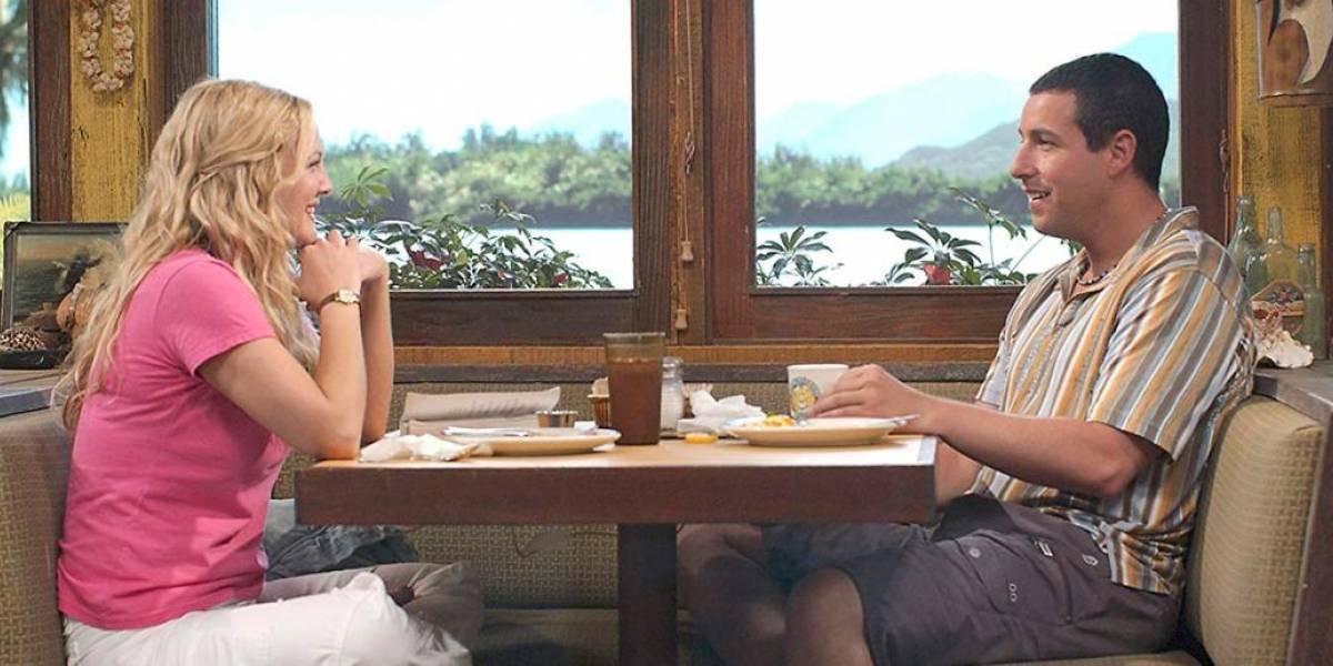 """Adam Sandler y Drew Barrymore reviven sus personajes de """"Como si fuera la primera vez"""" a 16 años de la película"""