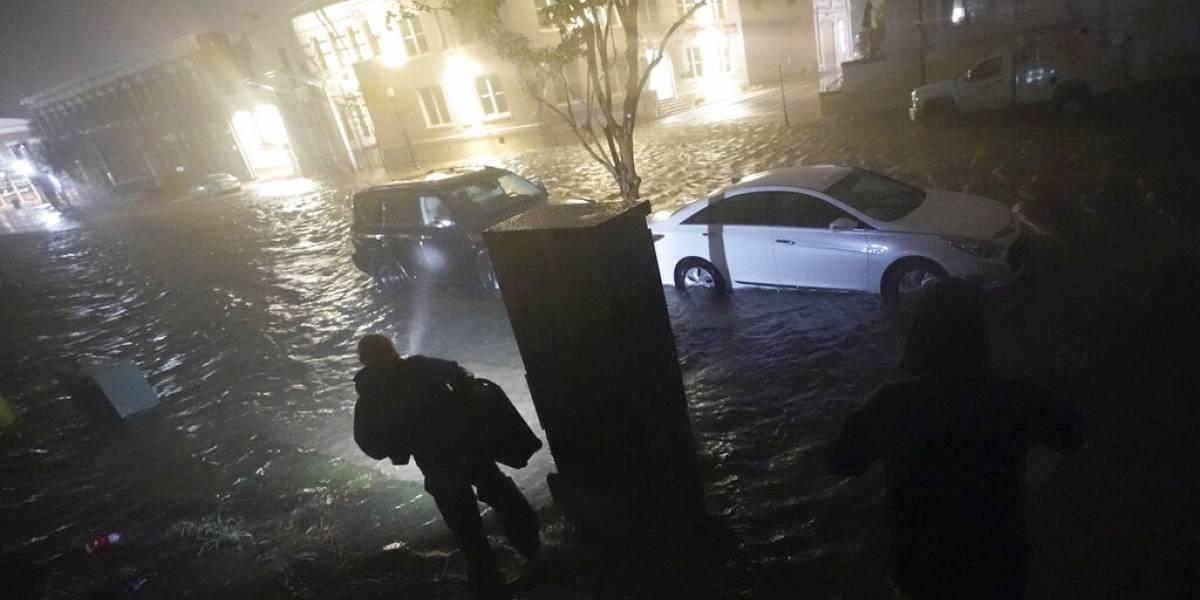 Huracán Sally toca tierra en Alabama y provoca inundaciones en hogares