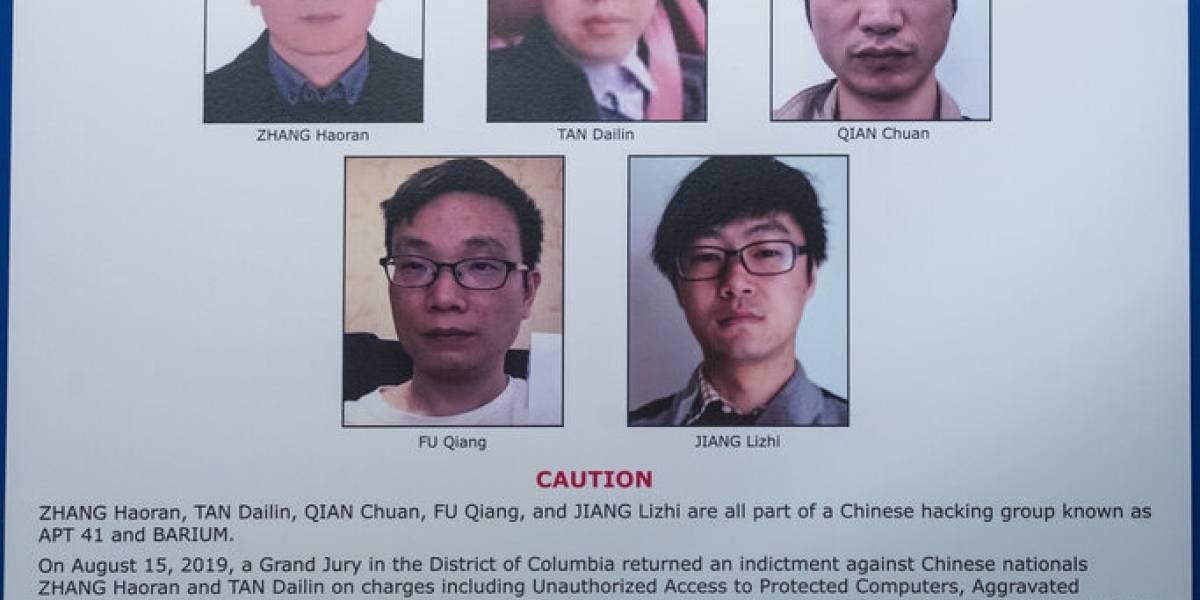Estados Unidos acusa a ciudadanos chinos de campaña global de hackeo