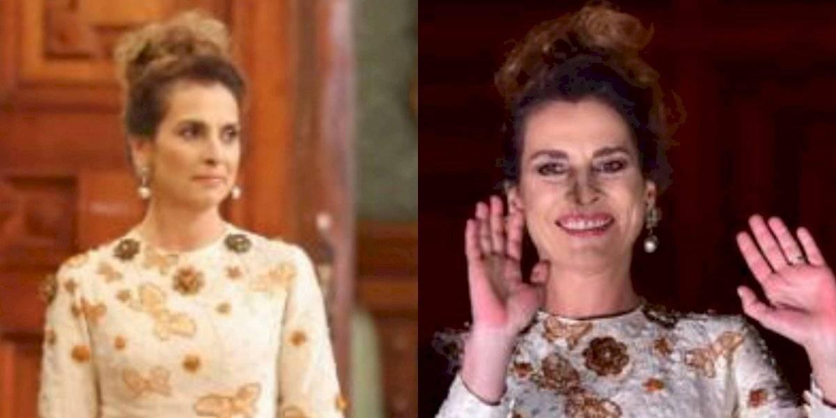 ¿Quiénes diseñaron el vestido que Gutiérrez Müller usó durante el Grito?