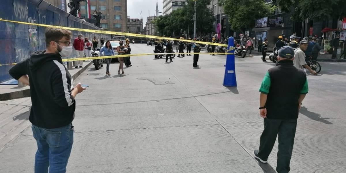 Calles vacías en pleno Desfile Militar por la Independencia