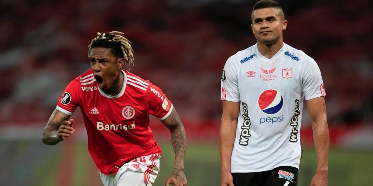 ¡Se apagó la mecha! La suerte no acompañó al América y se le escapó un resultado histórico en Libertadores