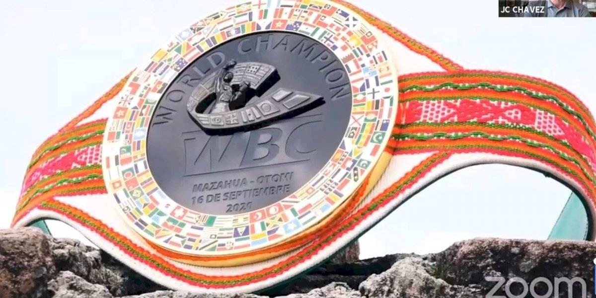 CMB rendirá homenaje a la cultura otomí con cinturón especial para Chávez vs Travieso III