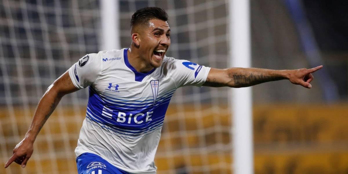 La UC cumplió a nivel internacional y sumó su primera victoria en la Copa Libertadores