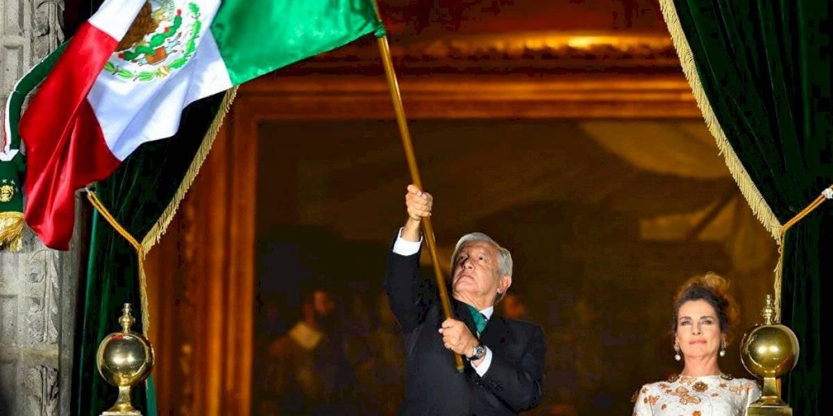 ¡Viva la esperanza en el porvenir!, lanza AMLO en el Grito de Independencia