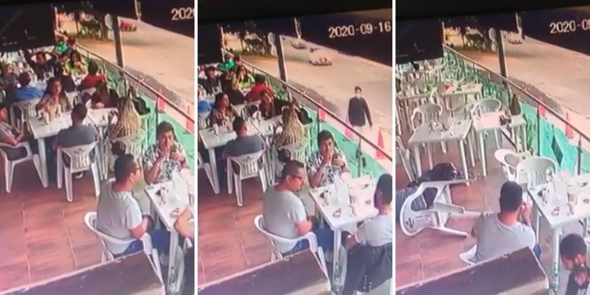 Ejecución de un hombre en restaurante bar causa pánico en León