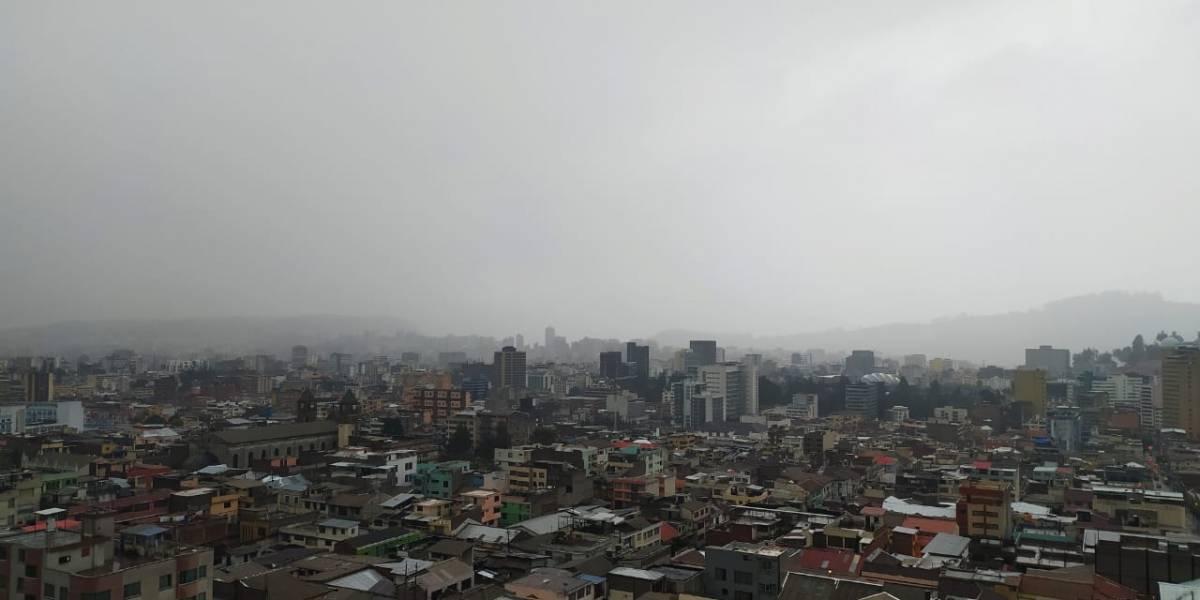16 de septiembre: Lluvia, granizo y tormentas eléctricas en Quito