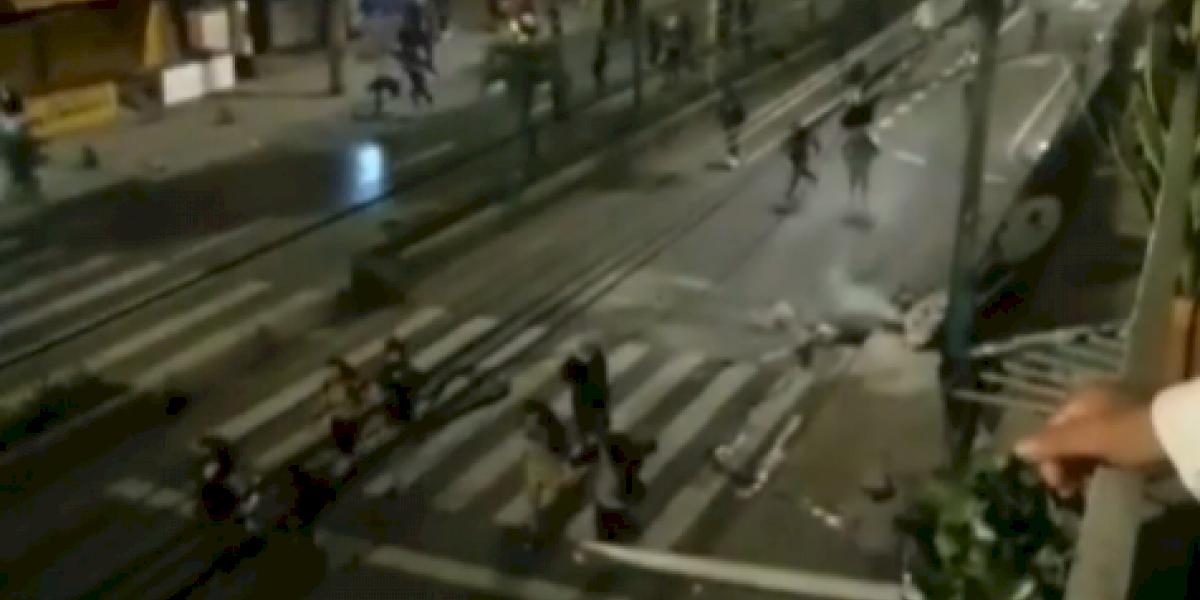 Se registran enfrentamientos entre manifestantes y el Esmad en Itagüí, al sur de Medellín