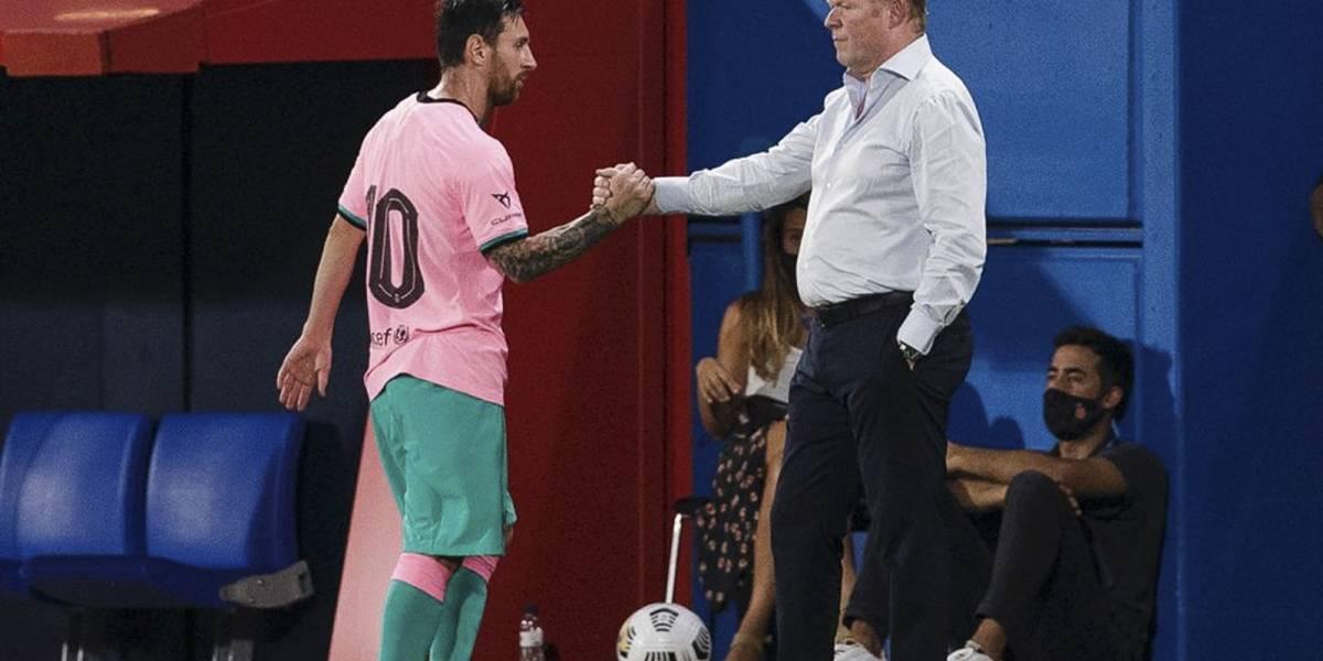 Al Barcelona ya se le nota la mano de Koeman