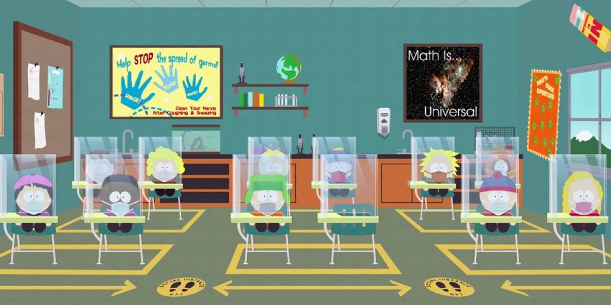 South Park tendrá capítulo especial de una hora sobre la pandemia de coronavirus
