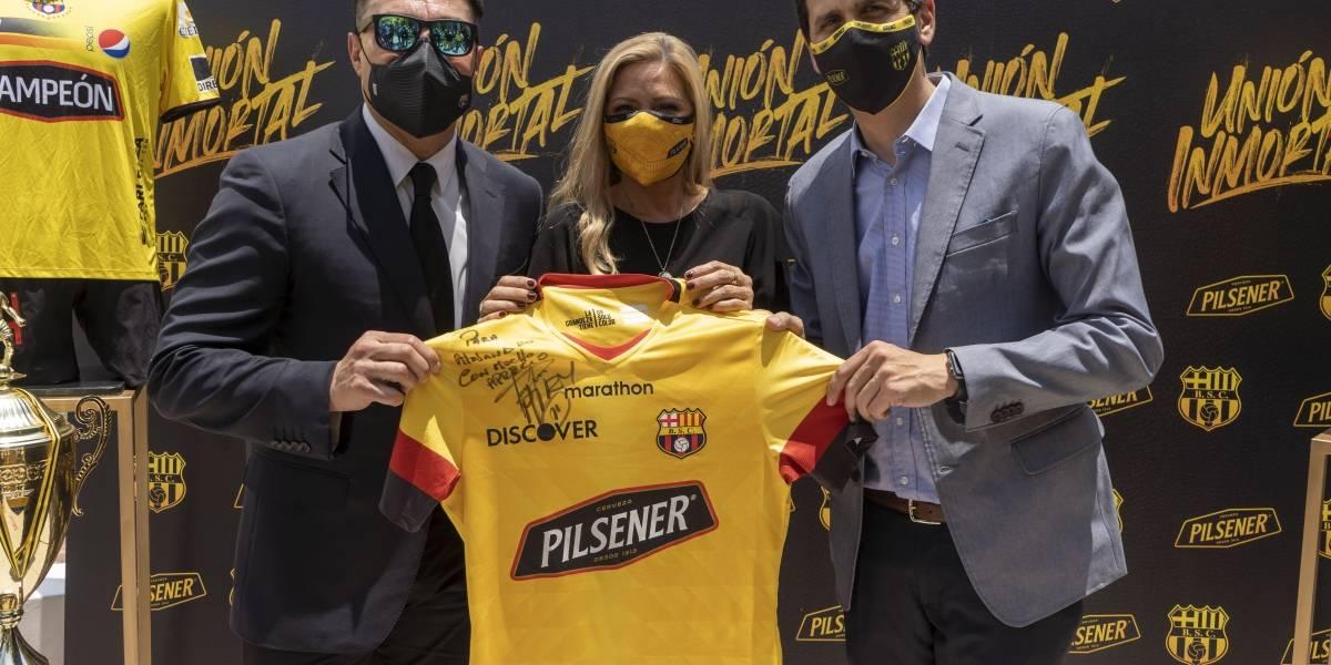 Pilsener y BSC renuevan su Unión Inmortal en un histórico contrato
