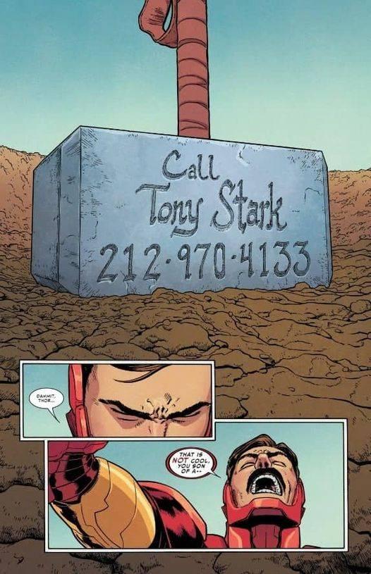 Marvel Iron Man teléfono