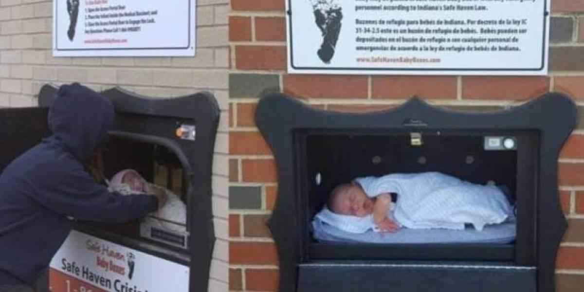 """Crece la tendencia de los buzones para """"depositar"""" bebés y evitar el infanticidio"""