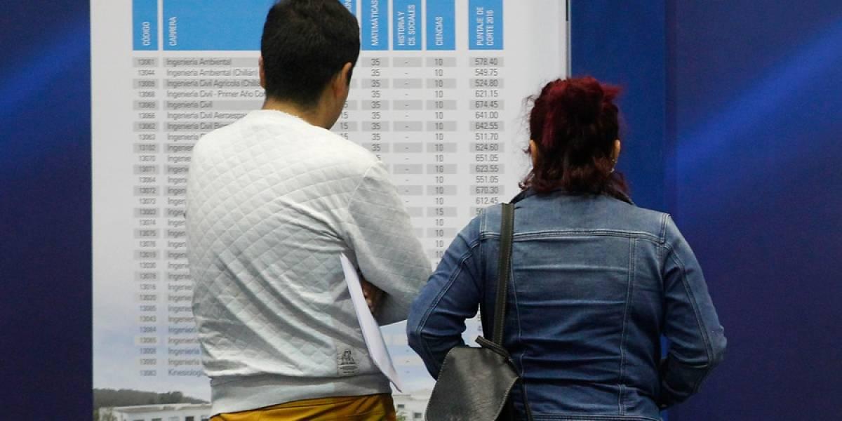 Sólo 30% valdrá la nueva Prueba de Transición: 43 universidades ofrecen 115 mil vacantes para casi dos mil carreras