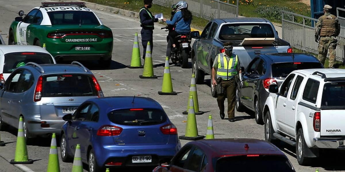 Con controles, cordones sanitarios y tacos en las carreteras: partió el éxodo de 200 mil vehículos en Fiestas Patrias