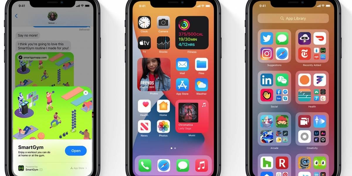 Ya está disponible iOS 14 con mejores