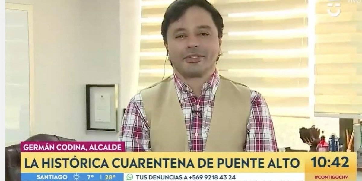 """Carter sin piedad: """"Yo no me disfrazo de Bernardo O'Higgins ni de San Martín"""""""