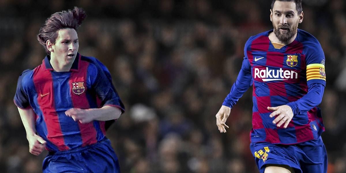 Messi, a 20 años de su llegada a Barcelona