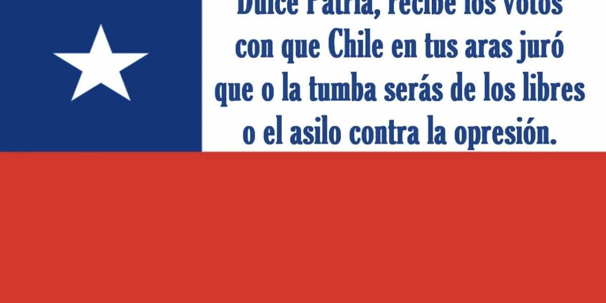 Cómo valoran el himno nacional chileno en YouTube: programa argentino analizó la versión completa con todas sus estrofas