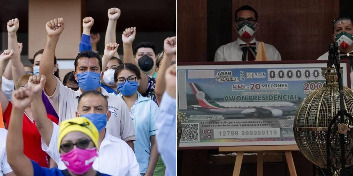 Sólo 16 ganadores de la rifa del avión no son instituciones