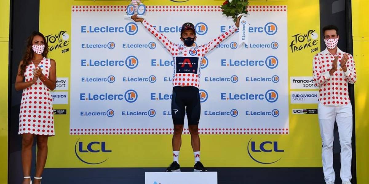 Fotos y videos para revivir la histórica participación de Carapaz en la etapa 18 del Tour de Francia