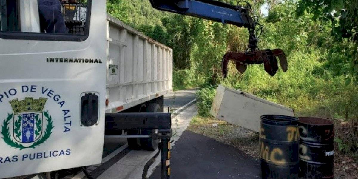 Realizarán masivo recogido de escombros en Vega Alta