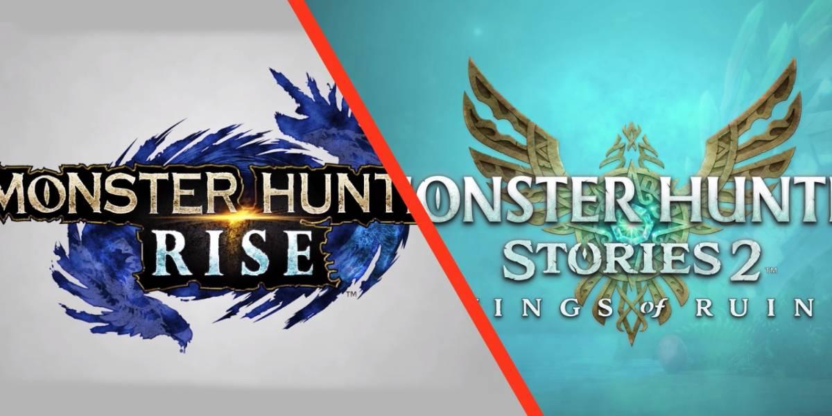 Nintendo y Capcom presentan dos títulos nuevos de la franquicia Monster Hunter