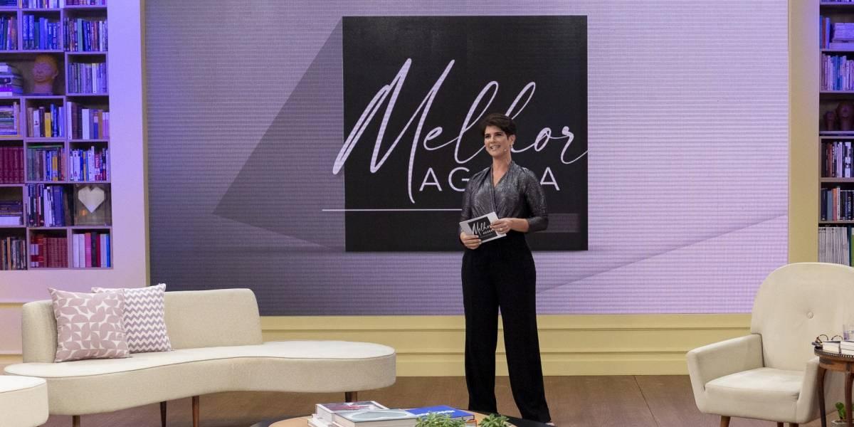 Mariana Godoy estreia no comando do talk show 'Melhor Agora'