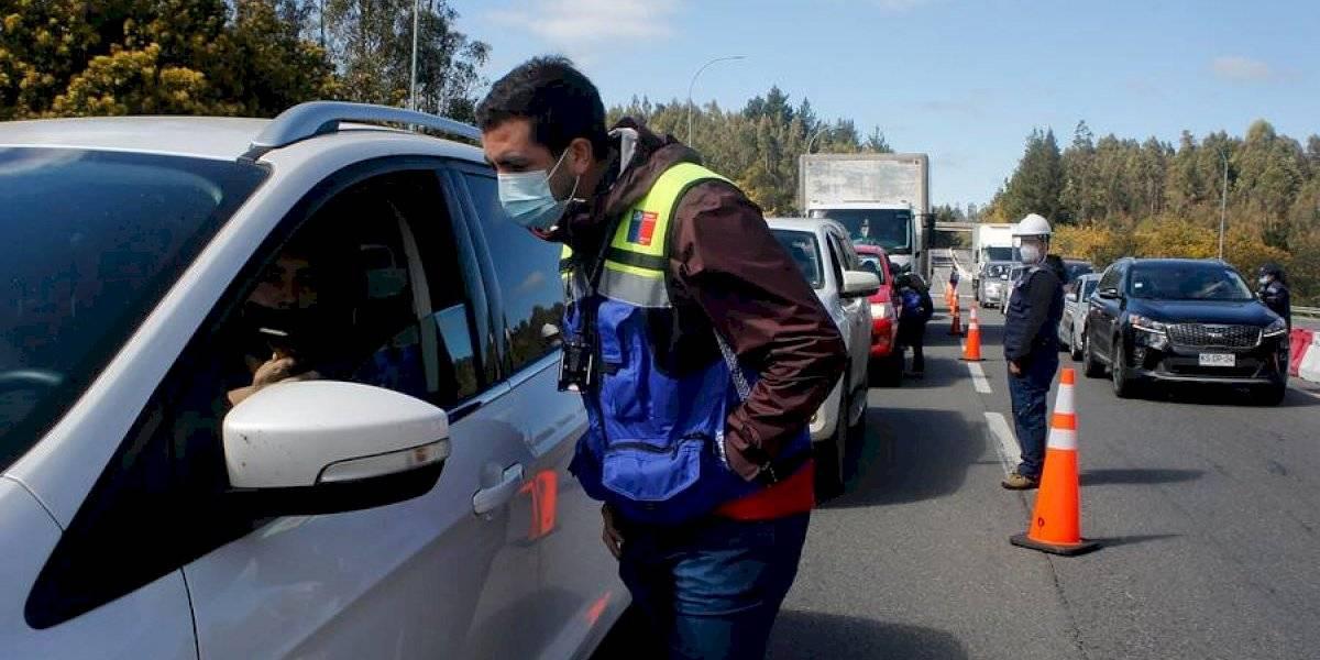 Cordones sanitarios en Fiestas Patrias: más de 3.800 vehículos han sido devueltos a nivel nacional