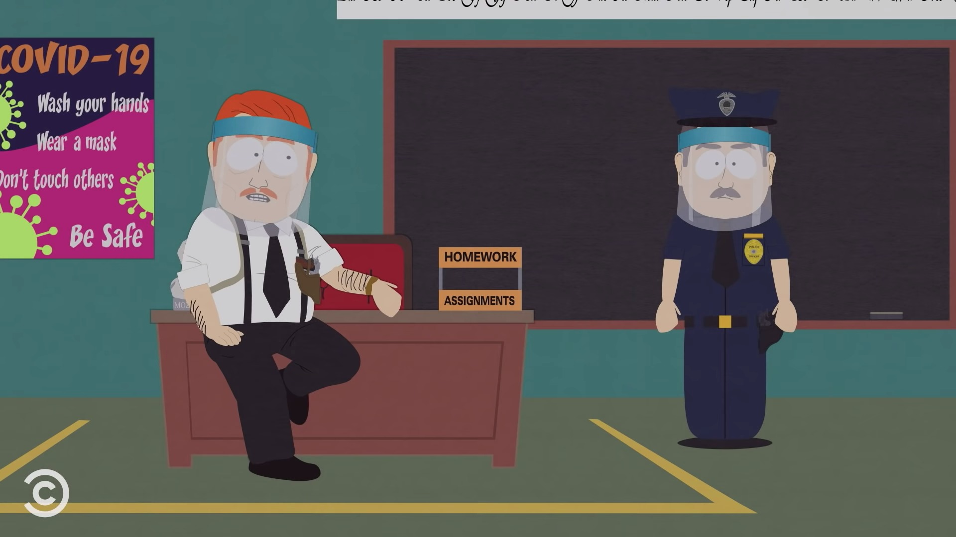 South Park coronavirus