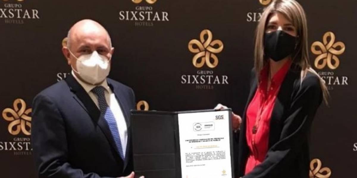 Grupo Sixstar Hotels obtiene certificación en verificación del protocolo de seguridad y salud en el trabajo
