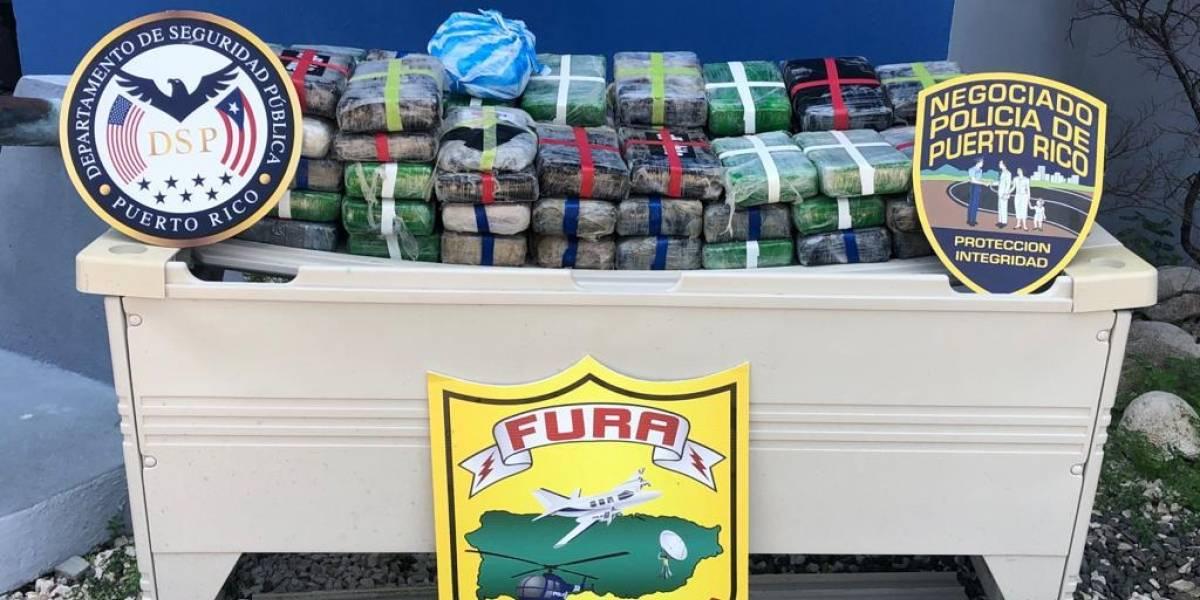 FURA halla embarcación con cocaína en Piñones
