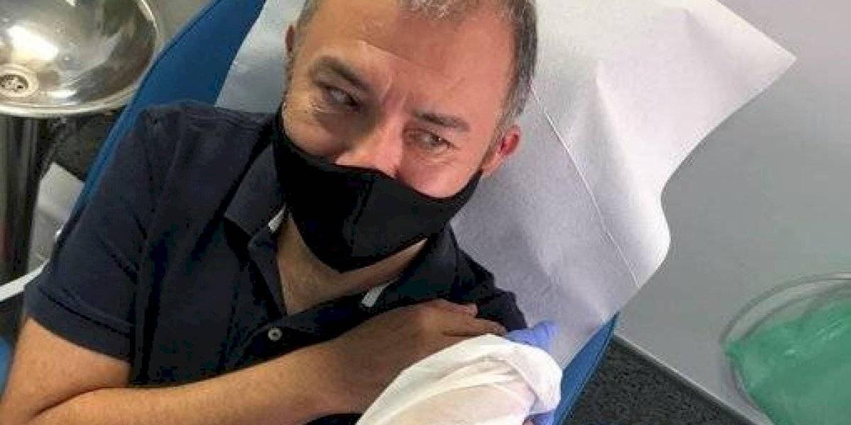 Él es Ernesto Herrera, el primer mexicano en vacunarse contra Covid-19