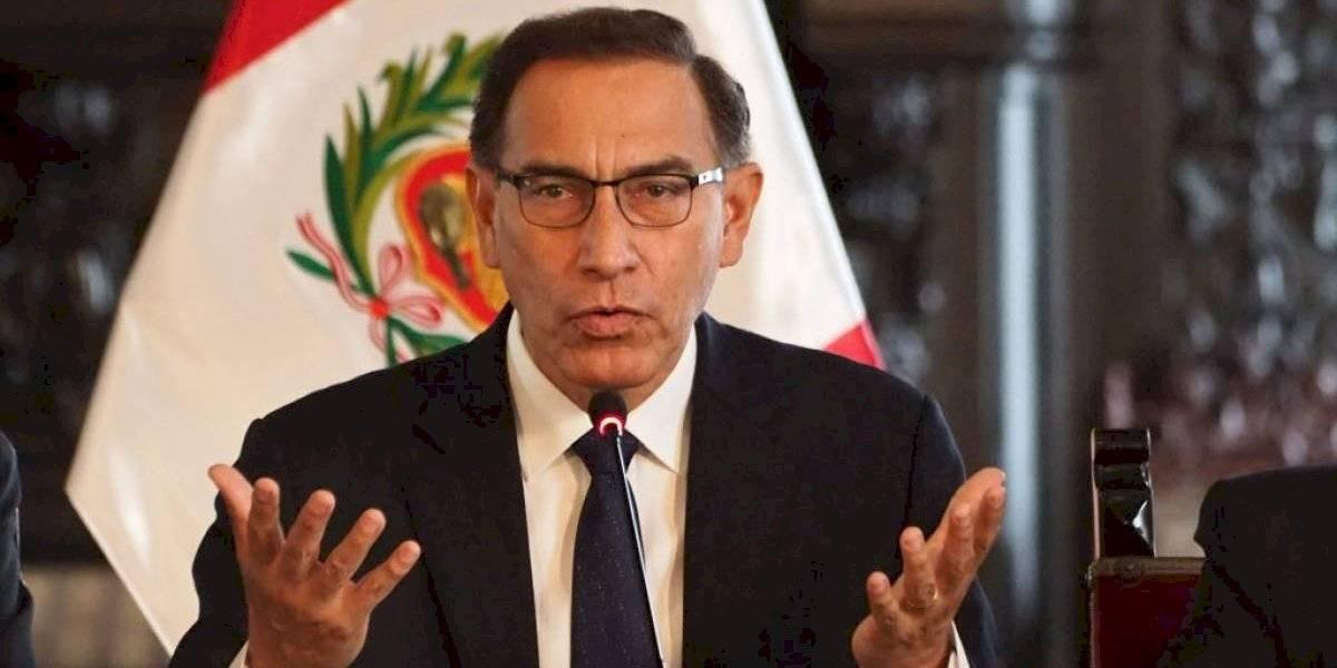 """Presidente de Perú podría ser destituido: """"No cometí ningún acto ilegal"""", se defendió Vizcarra"""