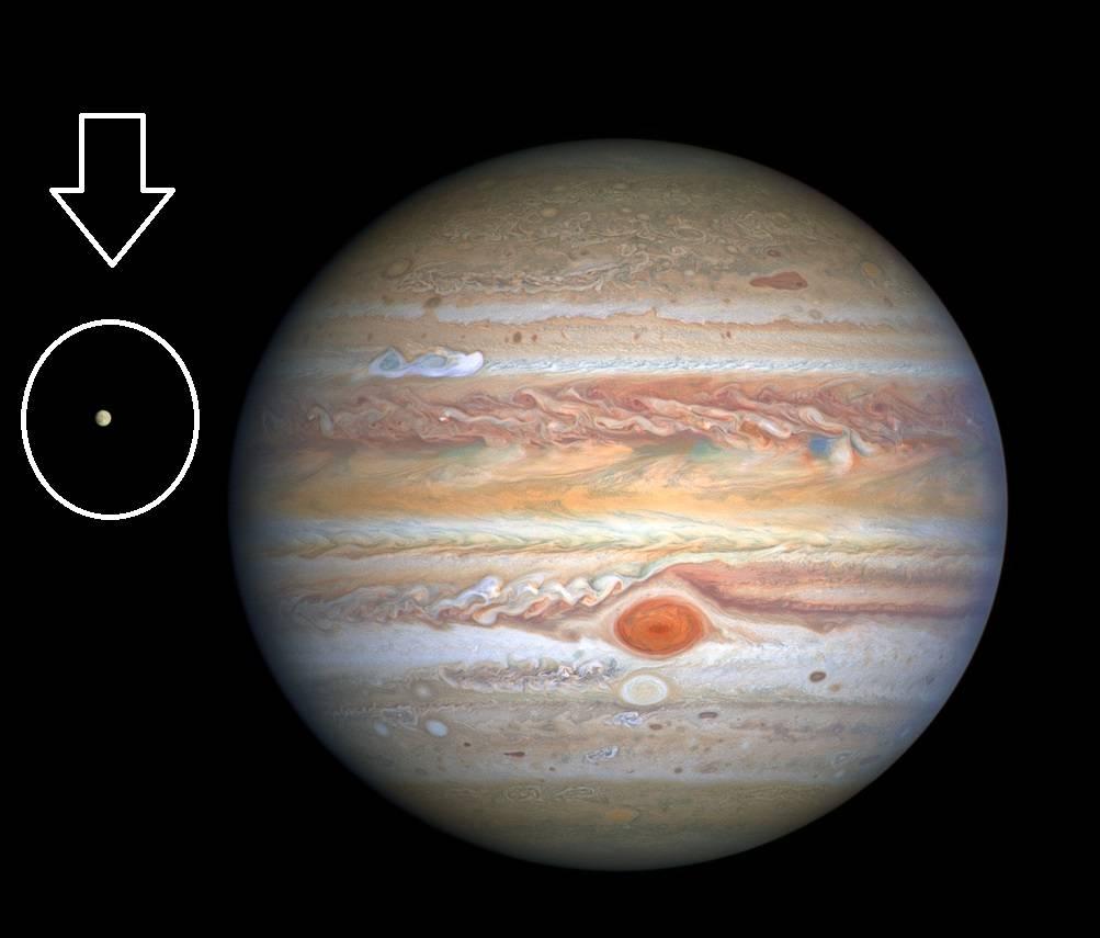 Júpiter Luna Europa