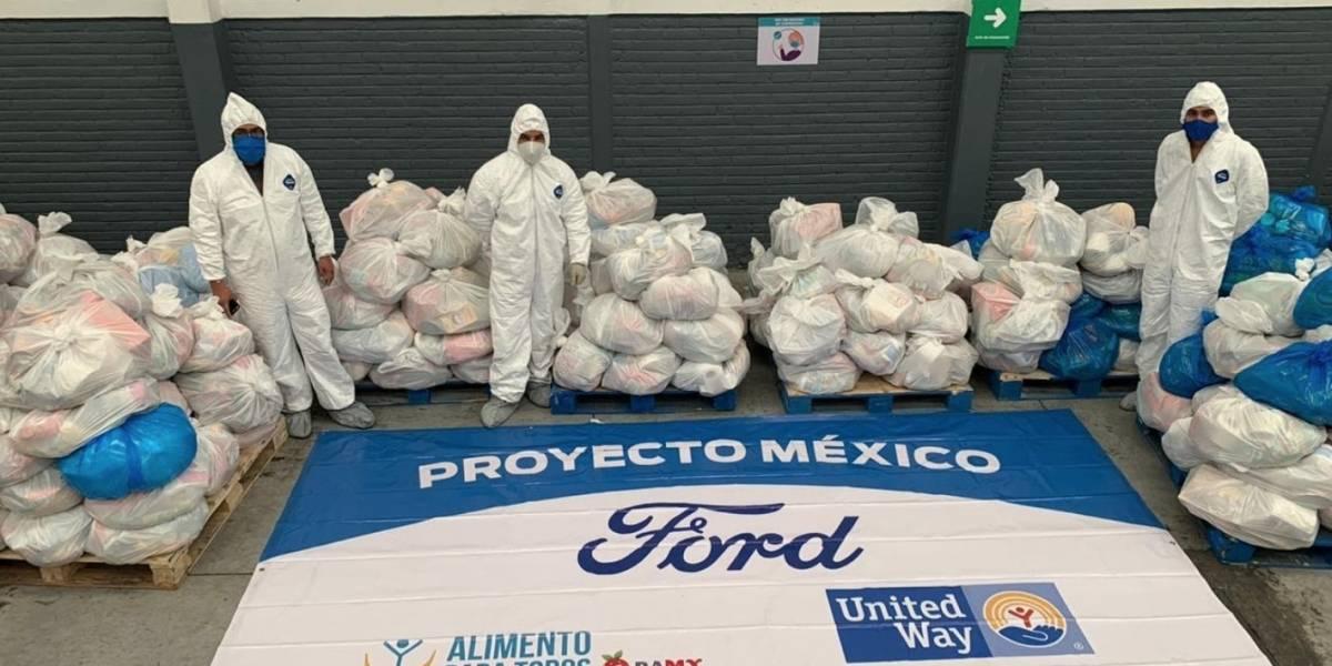 Así es como Proyecto México, iniciativa de Ford, ha ayudado a quienes más lo necesitan ante la pandemia