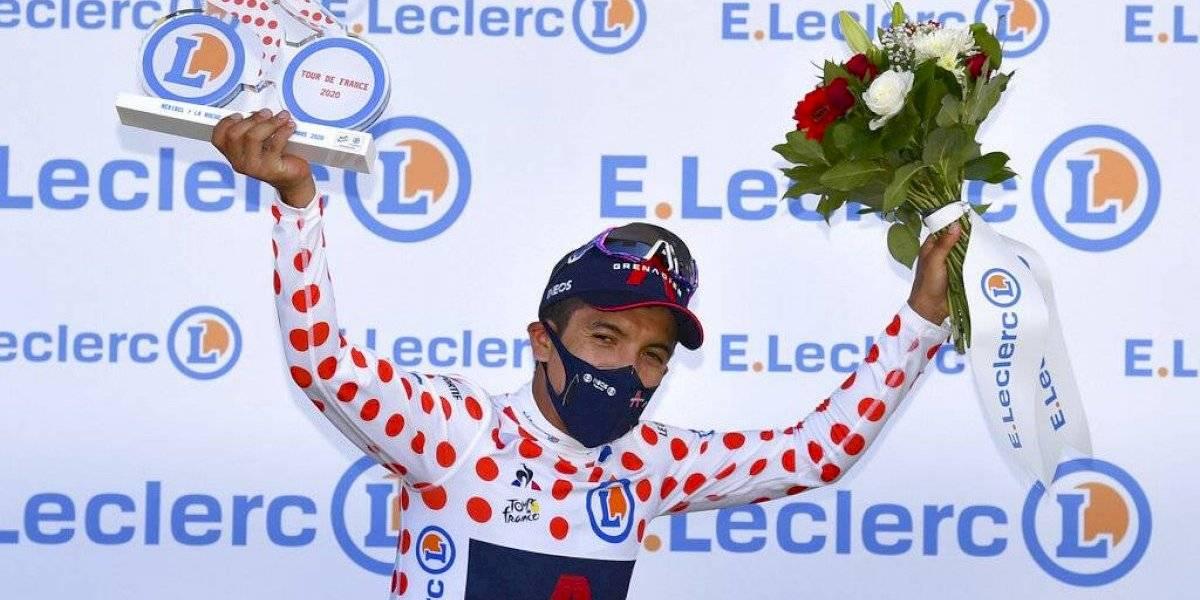 """Tour de Francia: la etapa clave para que Richard Carapaz gane como """"rey de la montaña"""""""