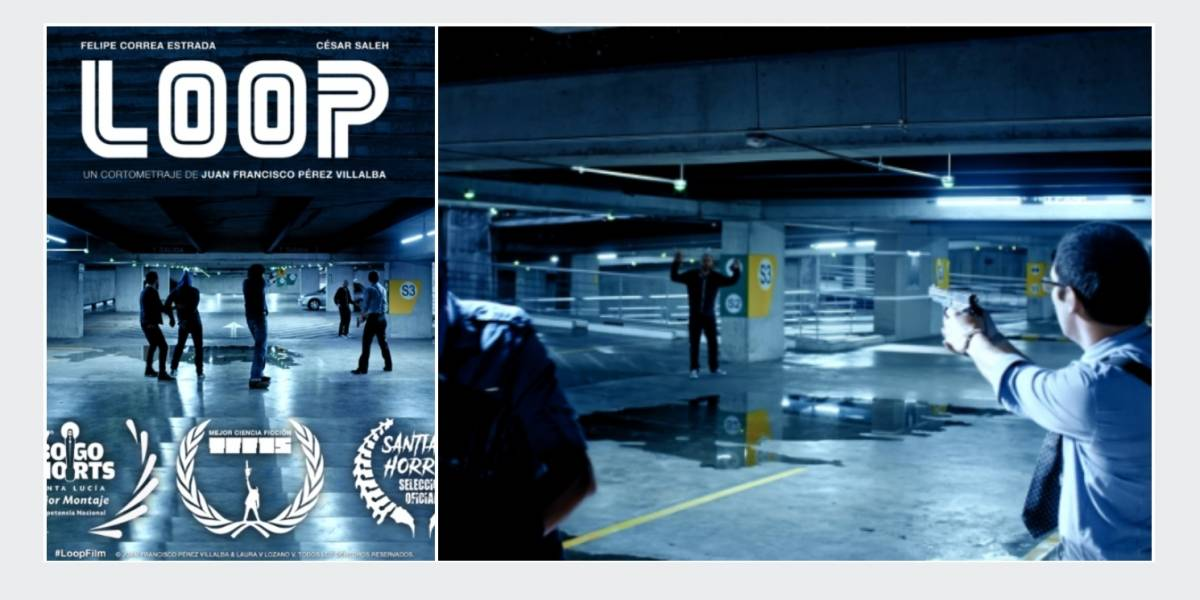 Cortometraje colombiano 'Loop', premiado en el festival croata Trash Film Festival