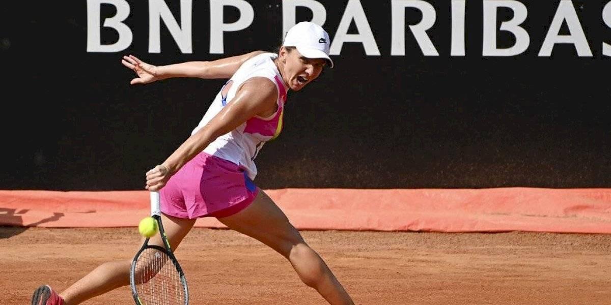 Djokovic, Nadal y Halep avanzan a cuartos de final en Roma