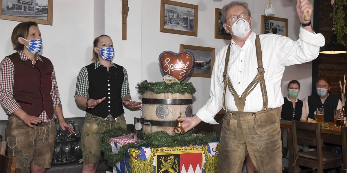 Inicia un Oktoberfest moderado por la pandemia