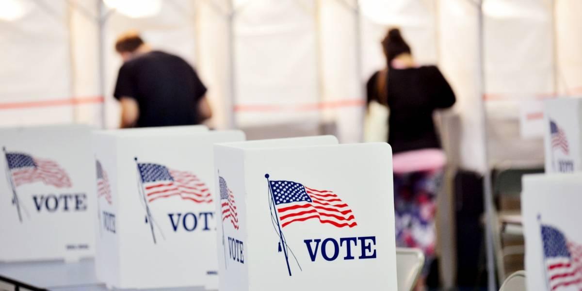 Encuesta: Mayoría votaría antes de día de elecciones en Estados Unidos
