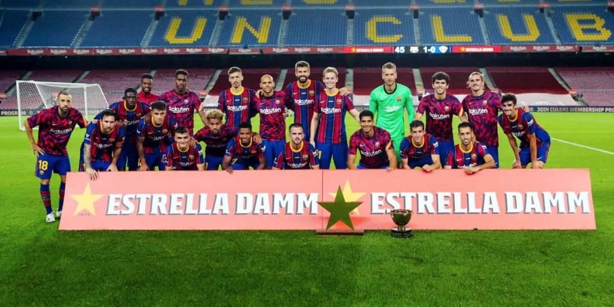 El Barça consigue su primer trofeo de la temporada... ¡el Joan Gamper!