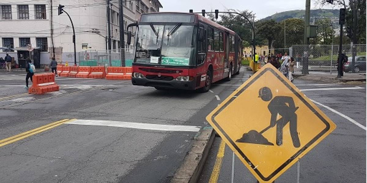 Quito: La avenida Gran Colombia en la Alameda se cerrará dos fines de semana