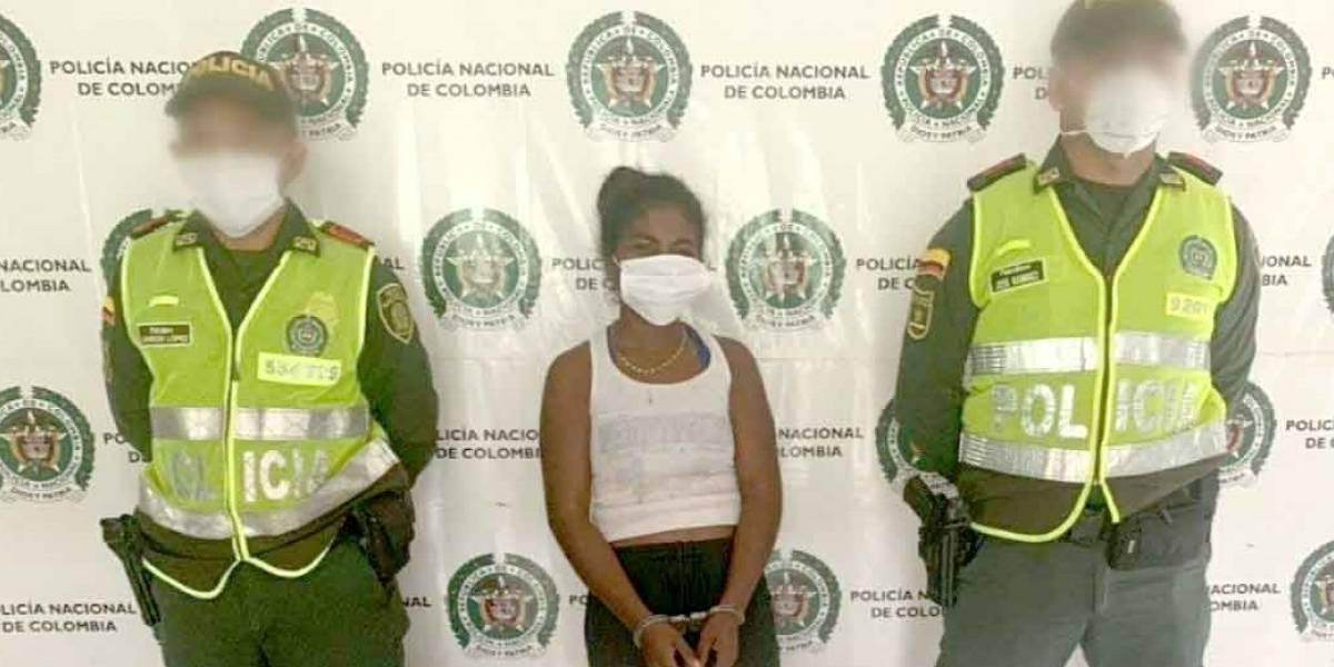 Pillaron a esta mujer cuando intentaba ingresar 65 dosis de marihuana a una cárcel
