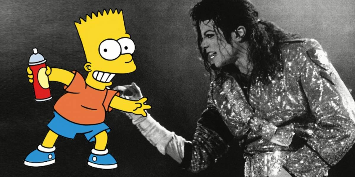 Los Simpson: Michael Jackson y Bart interpretan una canción que seguramente no conoces