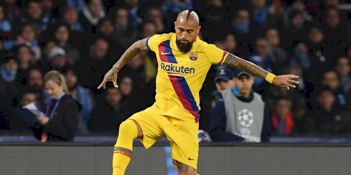 Arturo Vidal deja al Barcelona para jugar con el Inter de Milán